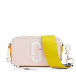 NWT Marc Jacobs Snapshot Ceramic pink white